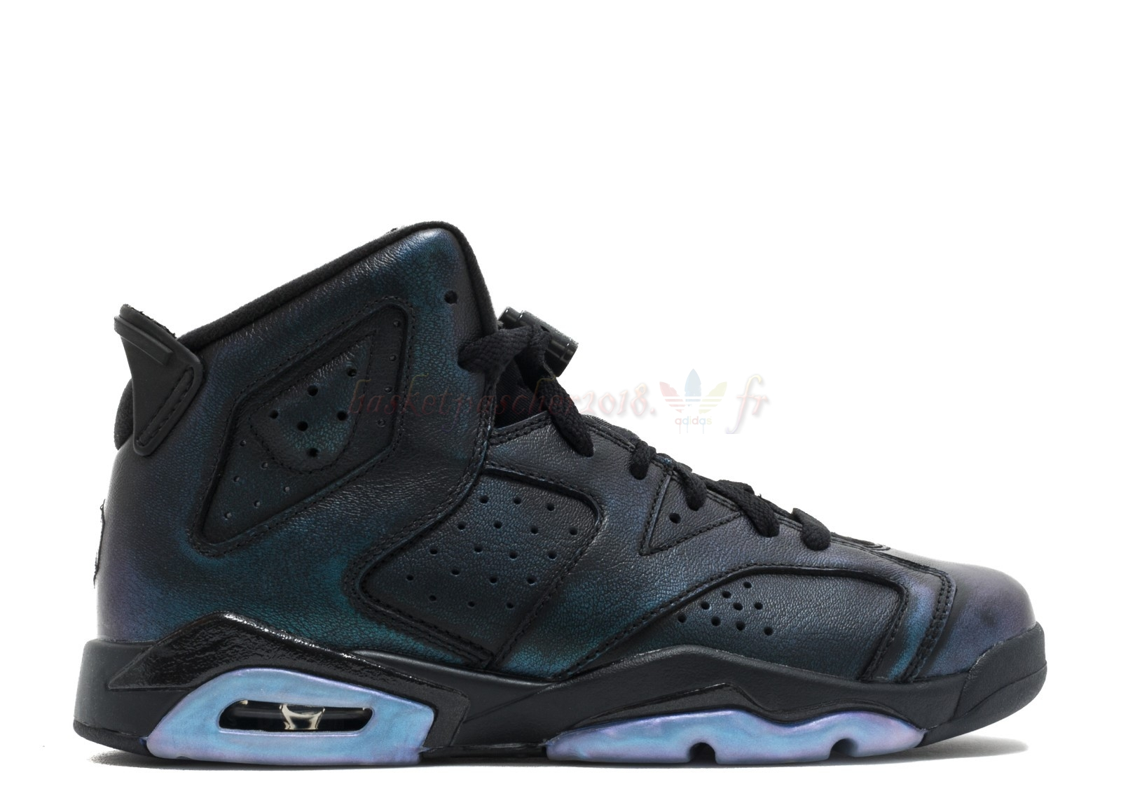 "Vente Chaude Chaussures De Basketball Femme Air Jordan 6 Retro As (Gs) ""All Star"" Noir (907960-015) Pas Cher"