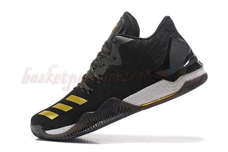huge selection of 1afde e0cd5 Vente Chaude Chaussures De Basketball Homme Adidas Derrick Rose Vii 7 Low  Noir Or Pas Cher