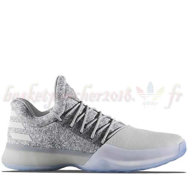 "Vente Chaude Chaussures De Basketball Homme Adidas Harden Vol 1 ""Grayvy"" Gris (bw0553) Pas Cher"