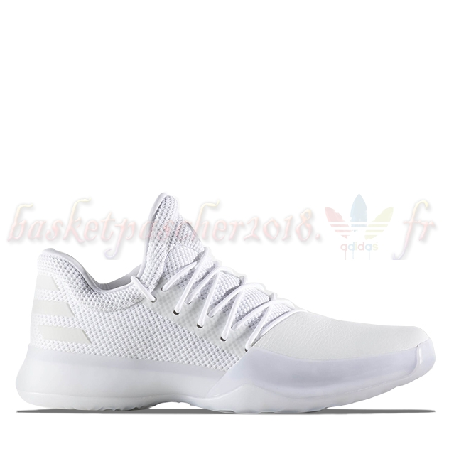 "Vente Chaude Chaussures De Basketball Homme Adidas Harden Vol 1 ""Yacht Party"" Blanc (by4525) Pas Cher"