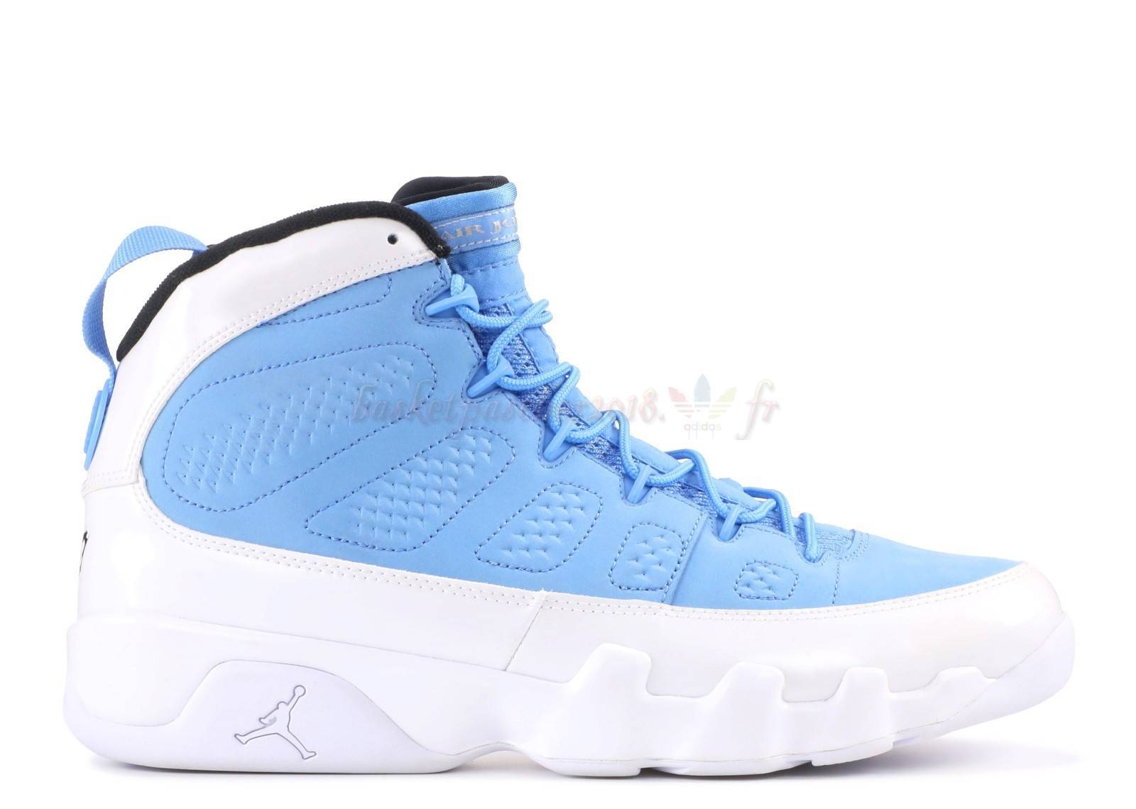 "Vente Chaude Chaussures De Basketball Homme Air Jordan 9 Retro ""For The Love Of The Game"" Bleu Blanc Noir (302370-401) Pas Cher"
