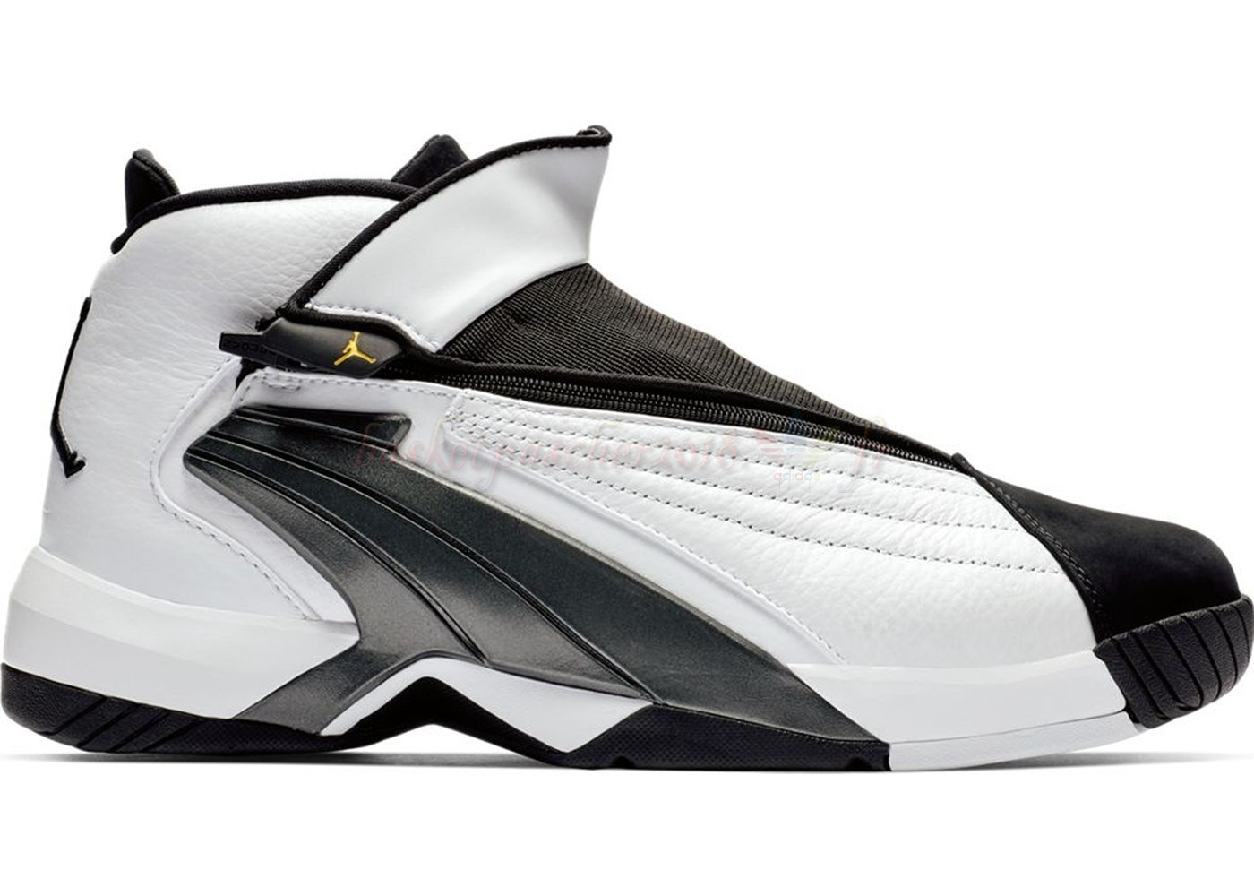Vente Chaude Chaussures De Basketball Homme Air Jordan Jumpman Swift White Black (at2555-100) Pas Cher