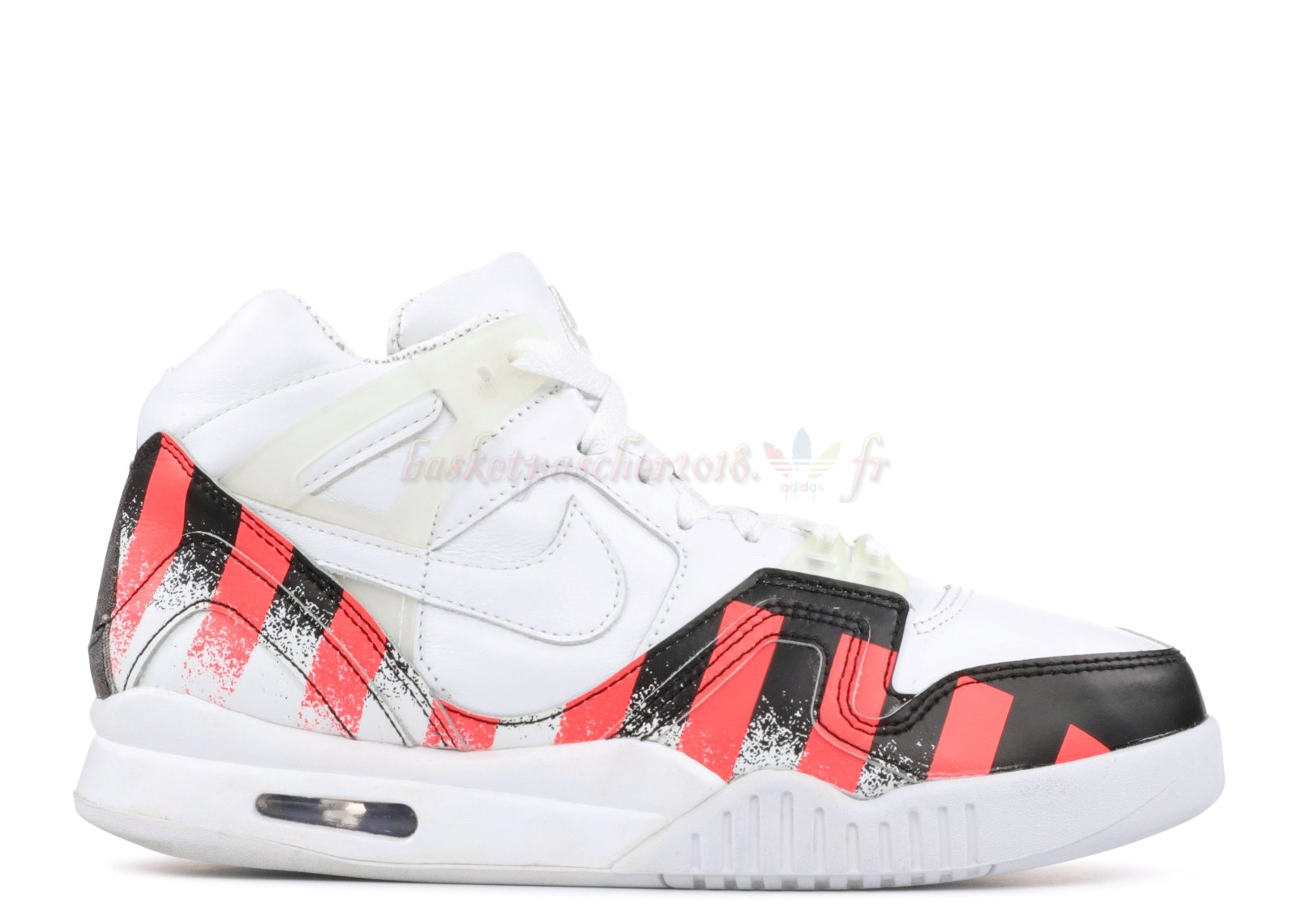 "Vente Chaude Chaussures De Basketball Homme Air Tech Challenge 2 ""French Open"" Blanc Pas Cher"