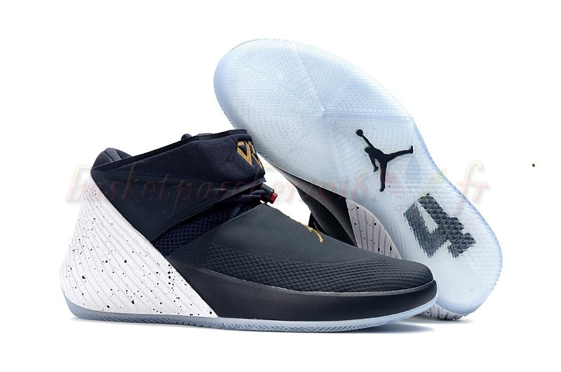 "Vente Chaude Chaussures De Basketball Homme Jordan Why Not Zer0.1 ""Tribute"" Marine Or Blanc (aa2510-431) Pas Cher"