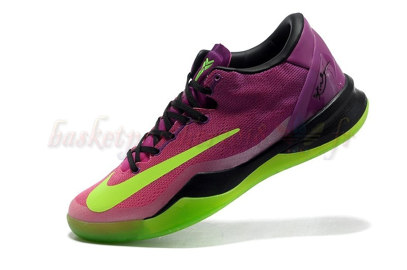 "Vente Chaude Chaussures De Basketball Homme Nike Kobe Viii 8 ""Mambacurial"" Rose Pas Cher"