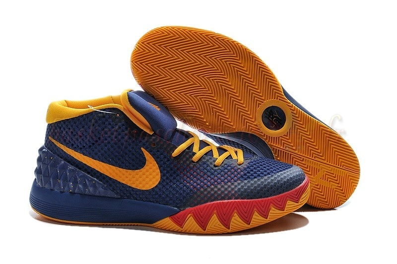 "Vente Chaude Chaussures De Basketball Homme Nike Kyrie Irving I 1 ""57 Points"" Bleu Pas Cher"
