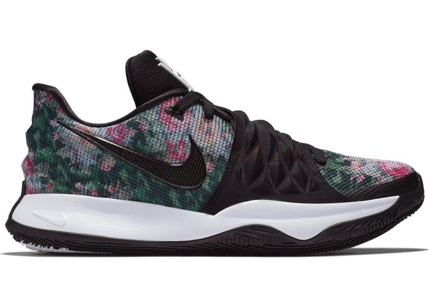 "Vente Chaude Chaussures De Basketball Homme Nike Kyrie Irving I 1 Low ""Floral"" Noir (ao8980-002) Pas Cher"