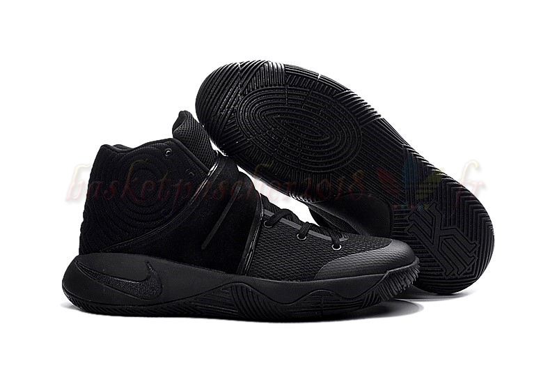 Vente Chaude Chaussures De Basketball Homme Nike Kyrie Irving Ii 2 Black (819583-008) Pas Cher
