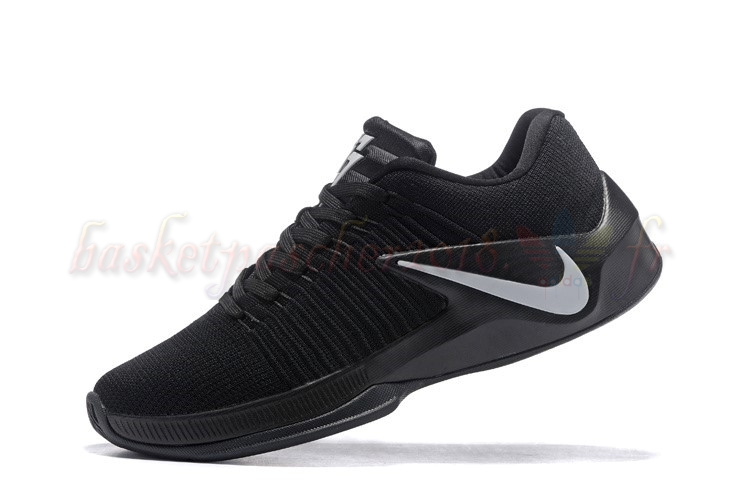 Vente Chaude Chaussures De Basketball Homme Nike Zoom Clear Out Low Noir Blanc Rouge Pas Cher