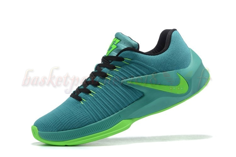 Vente Chaude Chaussures De Basketball Homme Nike Zoom Clear Out Low Vert (844376-006) Pas Cher
