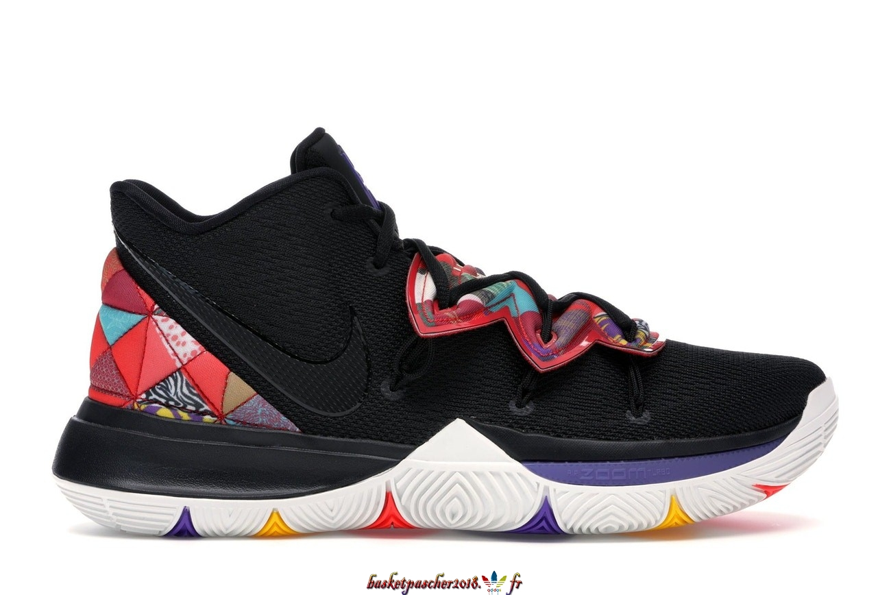 Vente Chaude Chaussures De Basketball Enfant Nike Kyrie V 5 Chinese New Year 2019 Enfant Noir (AO2919-010) Pas Cher