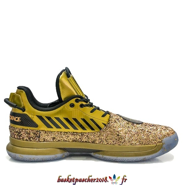 "Vente Chaude Chaussures De Basketball Homme Li Ning Way Of Wade 7 ""One Last Dance Home"" Or (ABAN079-27) Pas Cher"