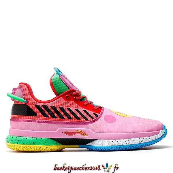 "Vente Chaude Chaussures De Basketball Homme Li Ning Way Of Wade 7 ""Year Of The Pig"" Multicolore (TBD) Pas Cher"