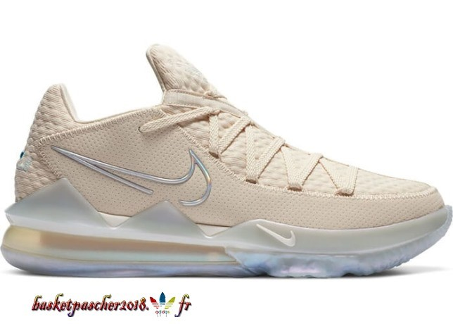 "Nike Lebron 17 Low ""Easter"" (2020) Bianca Crème (CD5007-200) Pas Cher"