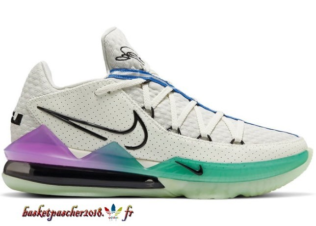 "Nike Lebron 17 Low ""Glow In The Sombre"" Multicolore (CD5007-005) Pas Cher"