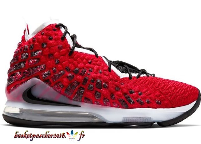 "Nike Lebron 17 ""Uptempo"" Rouge (BQ3177-601) Pas Cher"