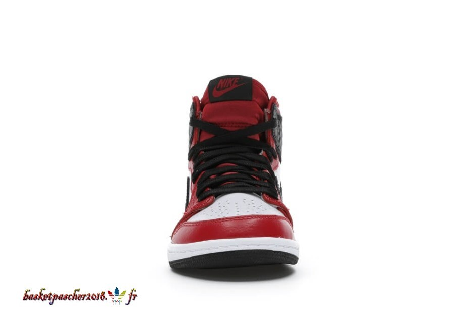 Jordan 1 Retro High Satin Snake Chicago (Ps) Blanc Noir 3 (CU0449-601) Pas Cher