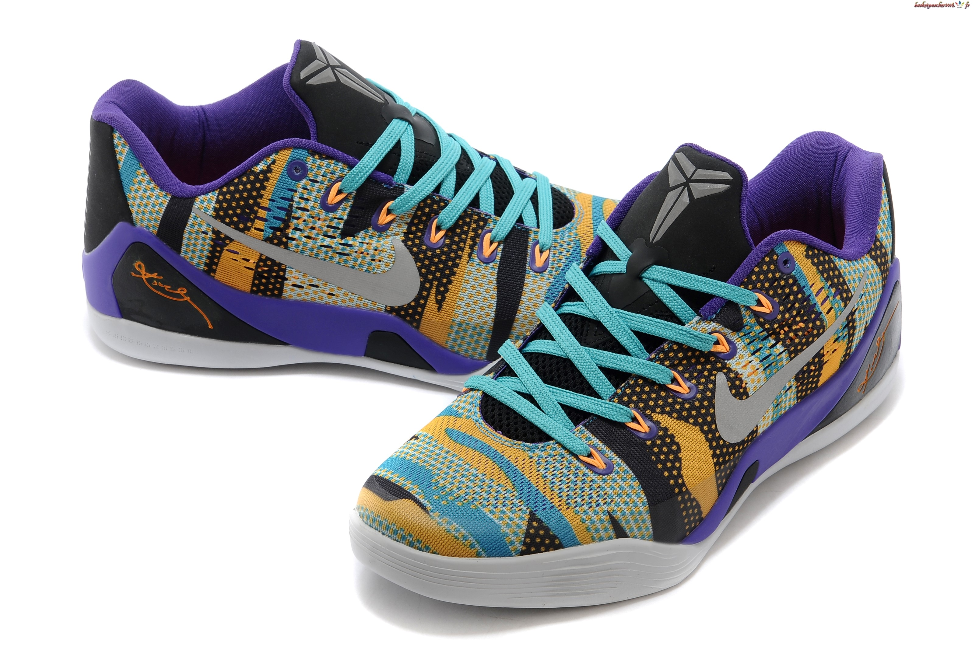 4740cd8ddf1f ... discount code for vente chaude chaussures de basketball femme nike kobe  9 elite gris pourpre blanc