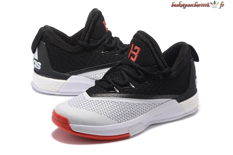 purchase cheap bbaae f9ac2 ... Vente Chaude Chaussures De Basketball Homme Adidas Crazylight James  Harden Noir Blanc Rouge Pas Cher ...