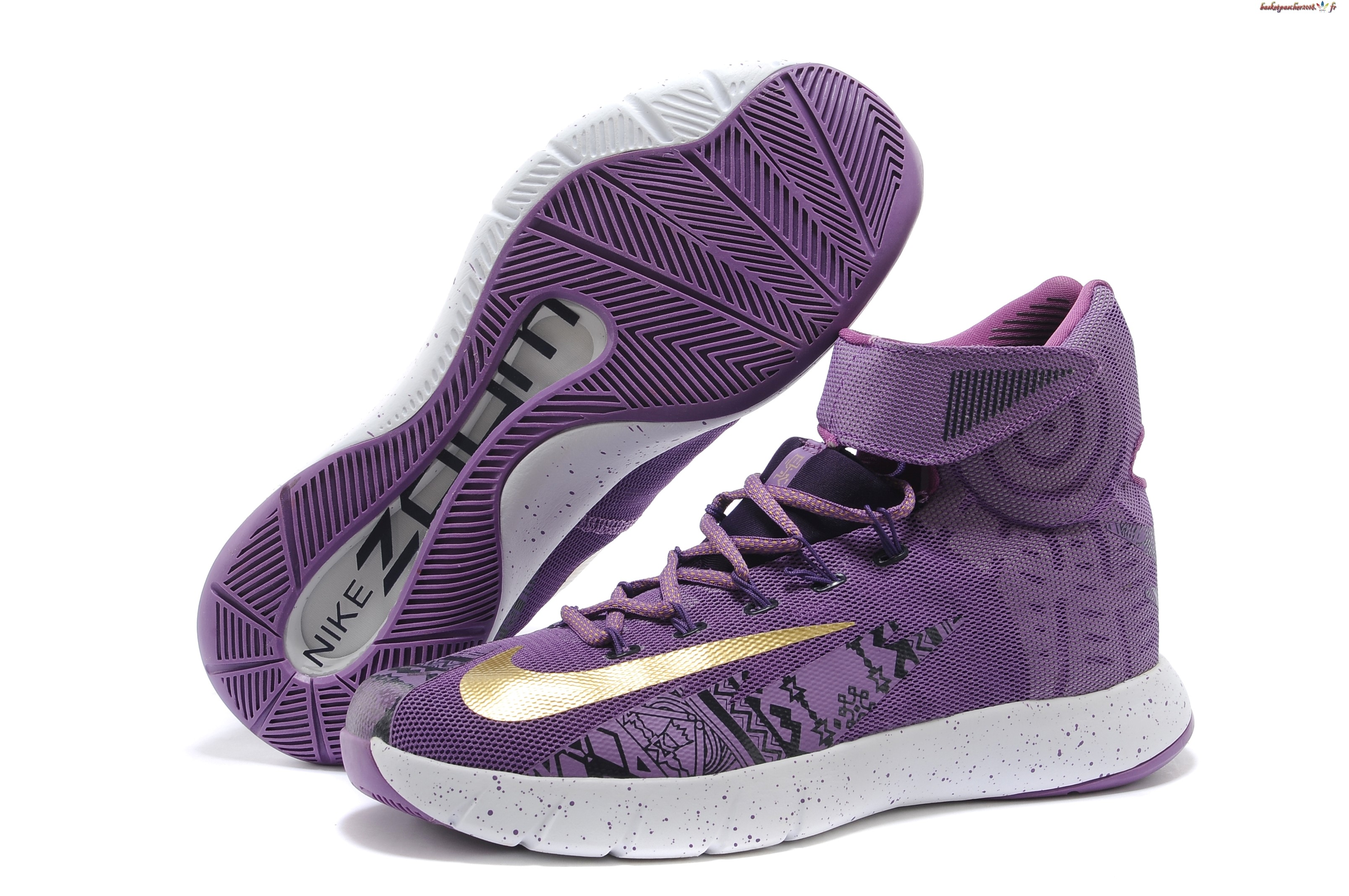 Vente Chaude Chaussures De Basketball Homme Nike Zoom Hyperrev Kyrie Irving Pourpre Pas Cher
