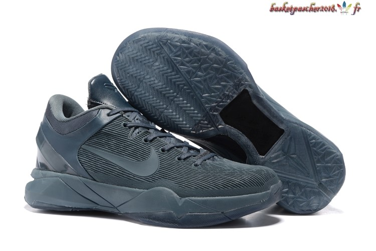 Vente Chaude Chaussures De Basketball Homme Nike Zoom Kobe 7 Gris Pas Cher